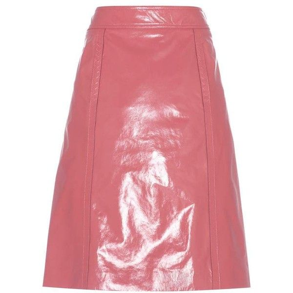 25 best ideas about pink leather skirt on