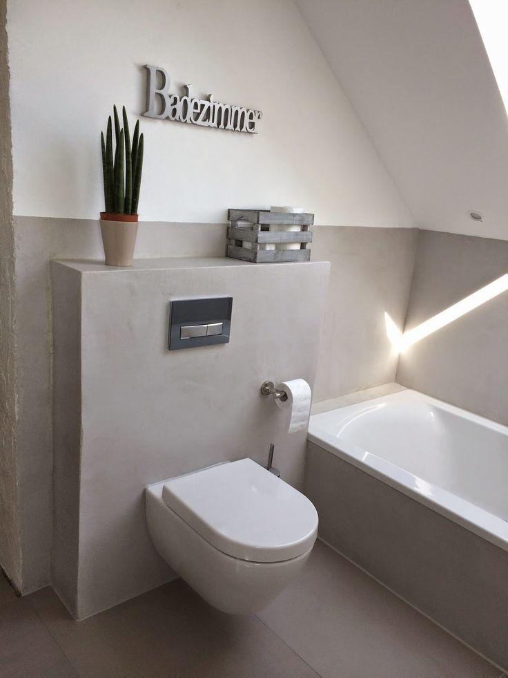 9 best gäste wc images on Pinterest Bathroom, Bathroom ideas and - lampen für das badezimmer