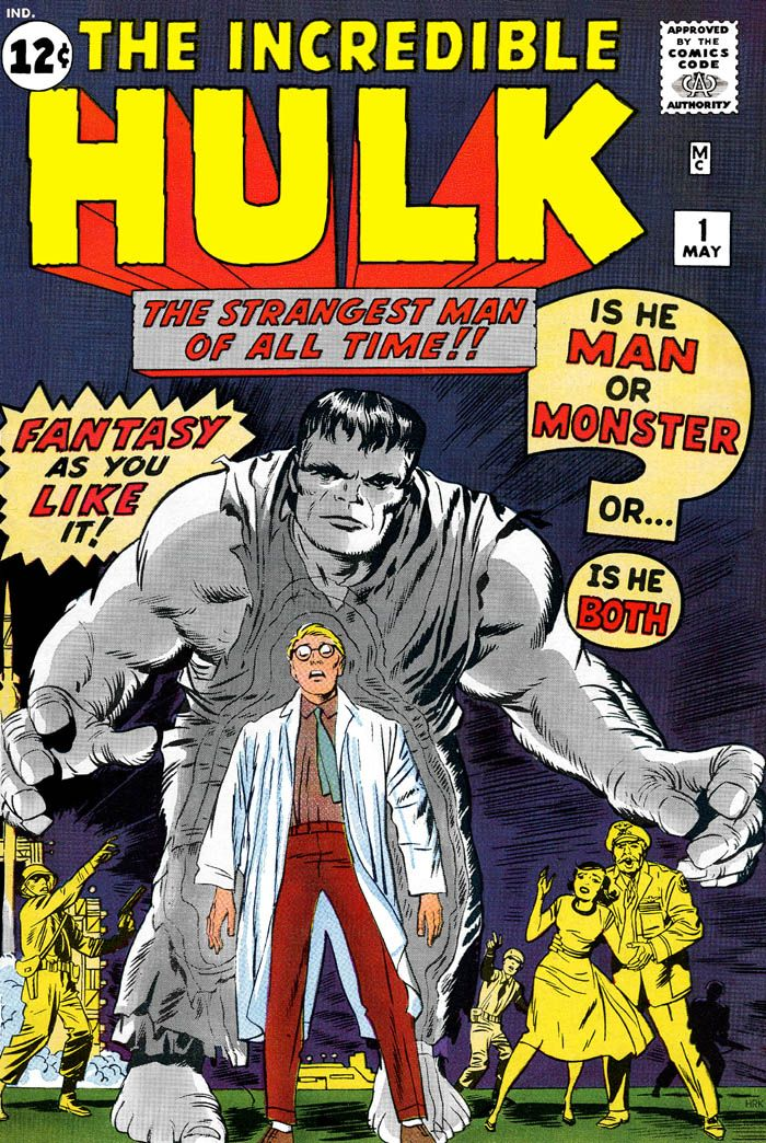 30 best the incredible hulk images on pinterest hulk incredible the incredible hulk 1 may 1962 cover art by jack kirby and fandeluxe Image collections