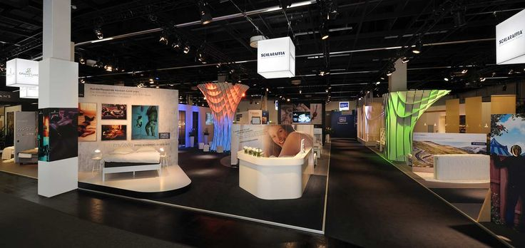 Neues Messekonzept auf der IMM Cologne für Schlaraffia realisiert. 1.000 m² Full-Service Messebau aus Köln.