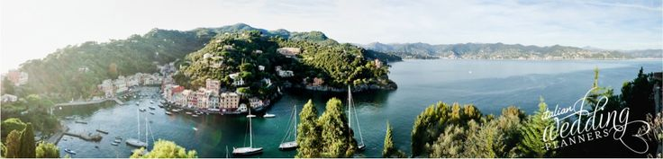 Portofino - Breathtaking view from the venue Email our Portofino wedding planners for info: info@italianweddingplanners.com
