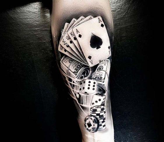 Casino Tattoo By Renata Jardim Tattoo Tattoo Ideen Tattoos