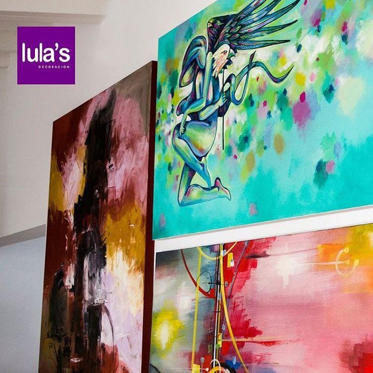Las paredes de tu casa son como lienzos listos para ser intervenidos y agregarle personalidad a un espacio con algo tan simple como unos cuadros por ejemplo. En #Lulas encuentras opciones para cada gusto particular  Estamos ubicados en la transversal 6 # 45 -79 Patio Bonito, Medellín, Tel: 2684641  #Decoracion #Sala #Comedores #Hogar #AccesoriosHogar #Muebles #Sillas #DecoradorDeInteriores #Home #casa #furniture #Decorar #Tendencias #Home #arquitetura #architecture #decor #decoration…