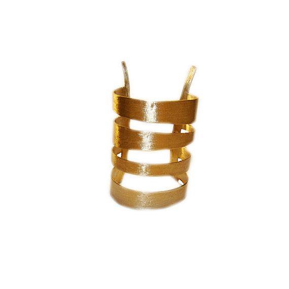 Titania Cuff   Brass Cuff Bracelet   Womens by arwcreation on Etsy, $99.00