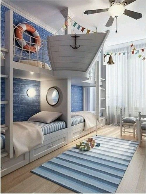 This is probably one of the coolest kids rooms EVER!!!!!