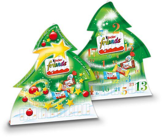 Kinder Advent Calendar Friends #adventcalendar #chocolate #xmas