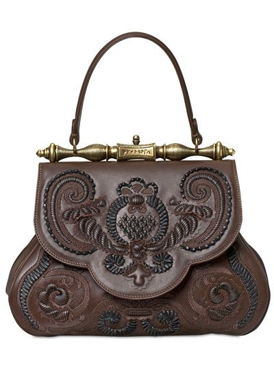 GHERARDINI - LA PRETIOSA LIMITED EDITION TOP HANDLE - LUISAVIAROMA - LUXURY SHOPPING WORLDWIDE SHIPPING - FLORENCE