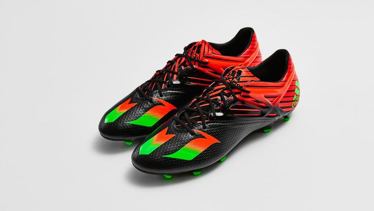 New Adidas Messi 15.1 with Black, Red and Solar Green