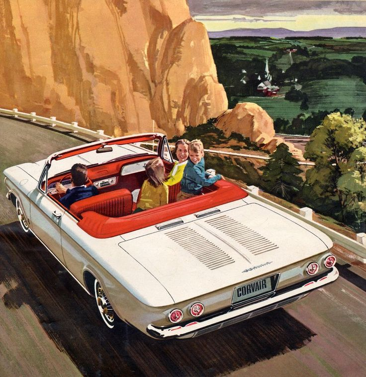 Fifty years on: 1963 Chevrolet Corvair brochure | Hemmings Daily