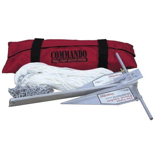 Fortress Commando Small Craft Anchoring System-Boat Outfitting | Anchors/Chain/R by Fortress Marine Anchors. Fortress Commando Small Craft Anchoring System-Boat Outfitting | Anchors/Chain/R.