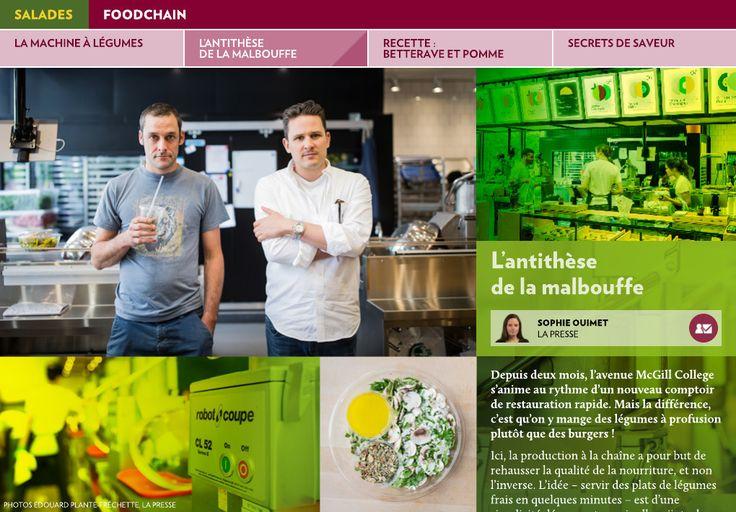 La machine à légumes - La Presse+