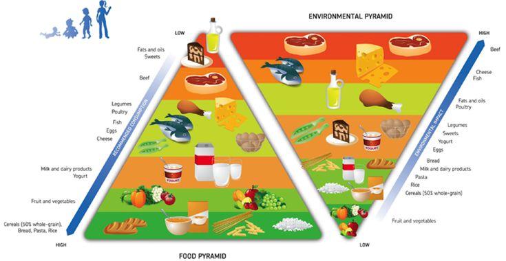 Pirâmide alimentar amiga do ambiente | Nutrimento