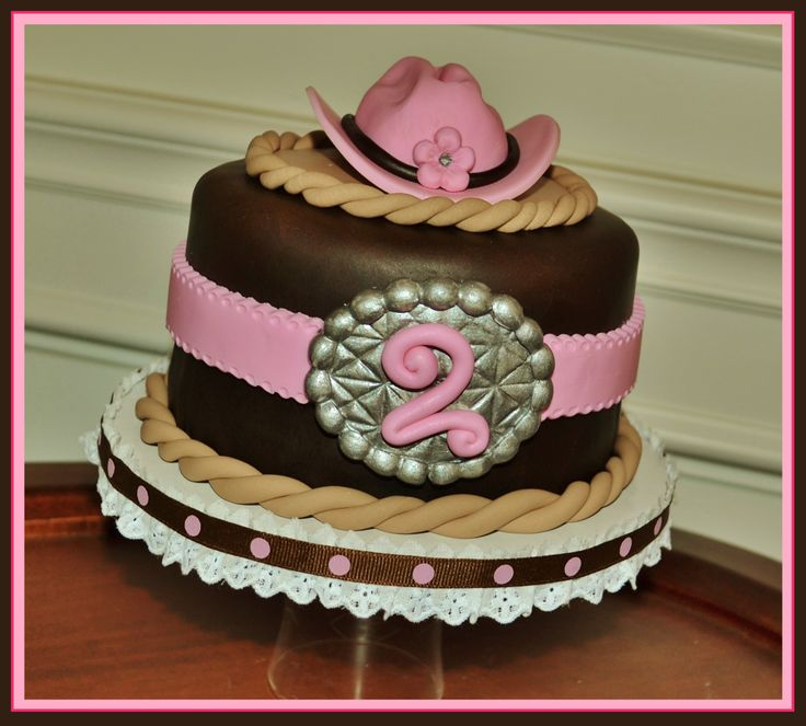 Childrens Birthday Cakes - Theme:  This Aint My First Rodeo