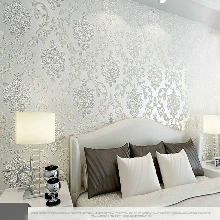 10m Many Colors Luxury Embossed Textured Wallpaper Non Woven Decal Wall Paper Rolls For Living Room