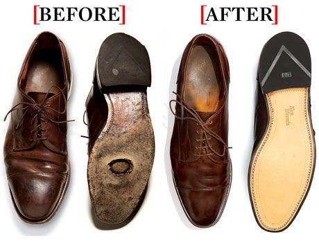 How to Refurbish Old Shoes. Don't let your shoes go into early retirement when refurbishment can be the better — and cheaper