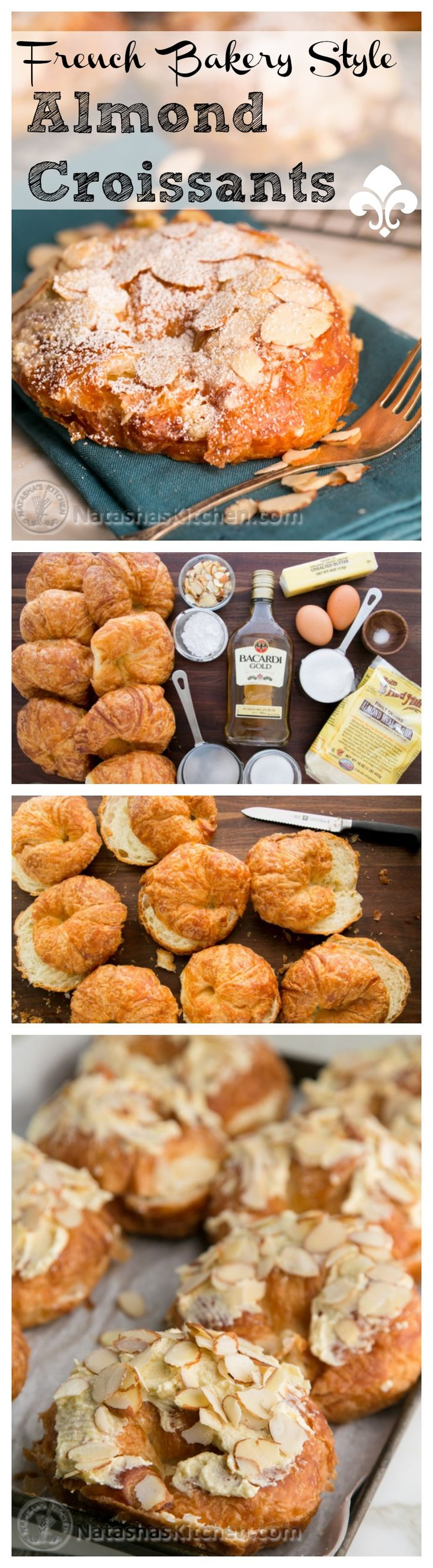 A fantastic way to use up day-old croissants. Copycat French bakery recipe. You WILL WOW your breakfasts guests!!