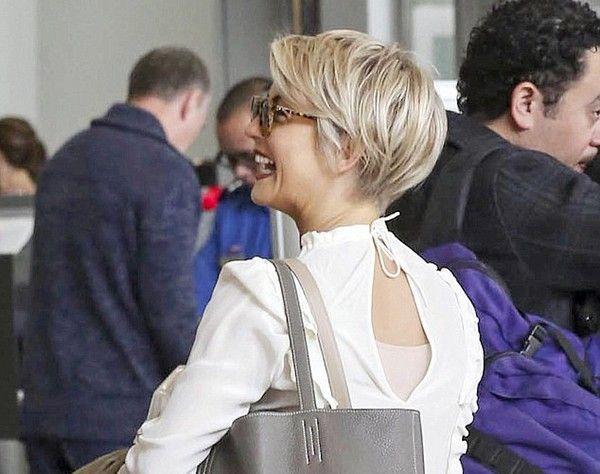 julianne hough pixie haircut | Julianne Hough Joins the Pixie Cut Club: See New Hair Cut 2014