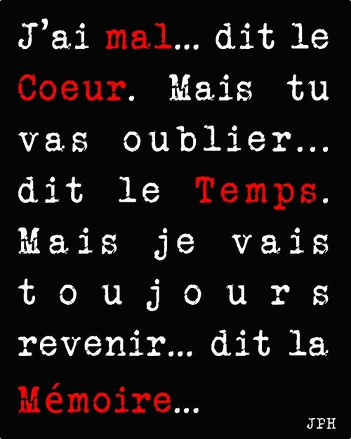 la mémoire!!   Awesome words...   Aline ♥ citations