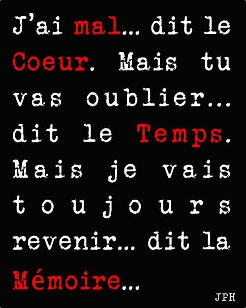 la mémoire!! Awesome words... Aline ♥ citations