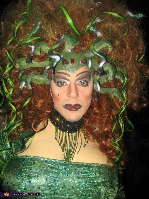 Medusa Costume - Halloween Costume Contest via @costumeworks