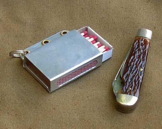 Pocket Matchbox Holder via Bushcraft USA | Fire Starting ...