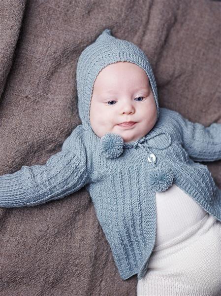 1508: Design 11 Jakke med hette #strikk #knit #merino