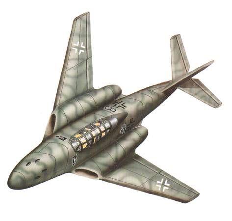 Messerschmitt Me262-pin by Paolo Marzioli