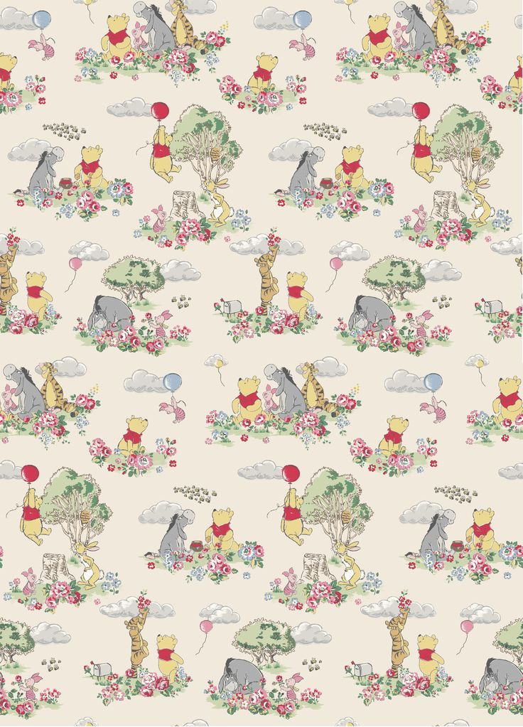 A Day In The Hundred Acre Wood | Beautiful forest scenes that tell a fun Winnie-the-Pooh story | Disney x Cath Kidston 2016 |