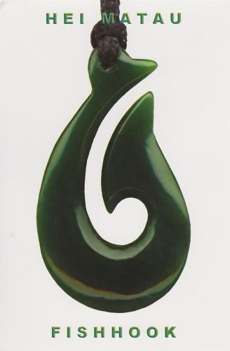 Powerful Ancient Symbols for Gratitude | The fishhook is a powerful ancient Maori symbol, reflecting good luck ...