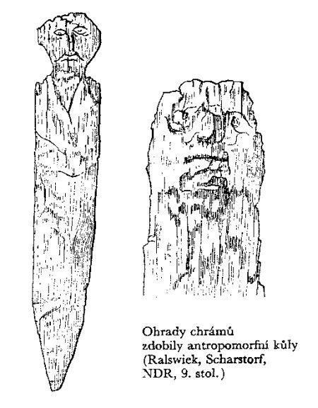 Ralswiek, IX w. (Slavic idol)