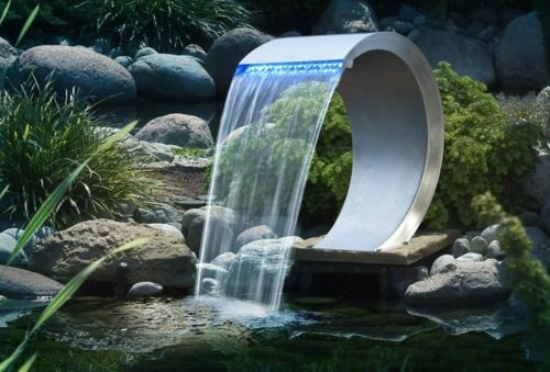 Ubbink Foss LED rustfritt stål Cobra Pond Pool ID 6405