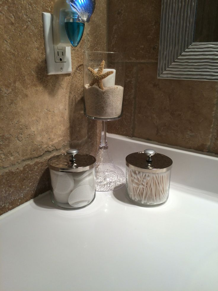 Easy decoration for a wc