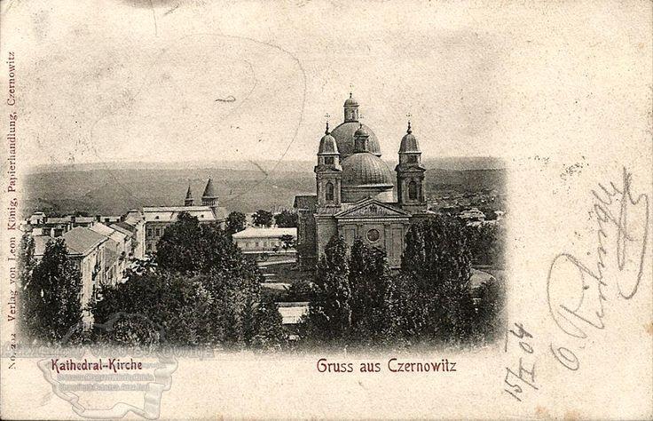 Cernăuţi. Plasa Cosmin. Orașul Cernăuți. Catedrala Ortodoxă. 1904