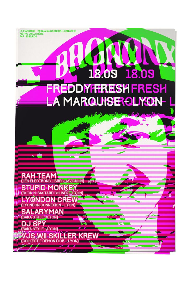 freddy fresh party electro break lamarquise lyon