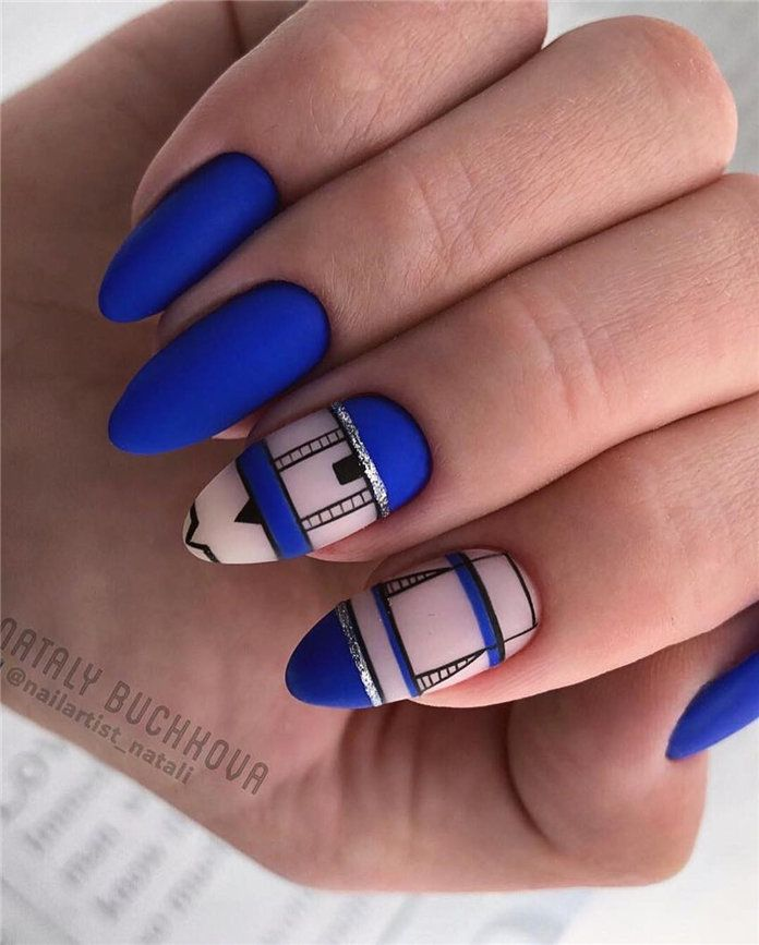 Nails French Almond Shape 64 Ideas For 2019 Nails Squoval Nails