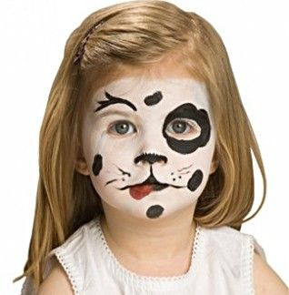 Dalmatian - AnimalsFace Paint Ideas - How to Face Paint | Snazaroo
