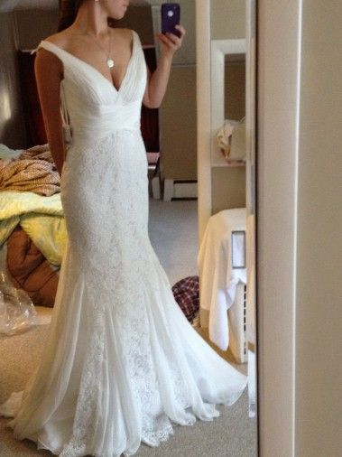 gownWedding Dressses, Wow Stunning, Wedding Day, Pretty Wedding, Wedding Gowns, Beautiful Dresses, Lace Bows, Future Wedding, Lace Dresses