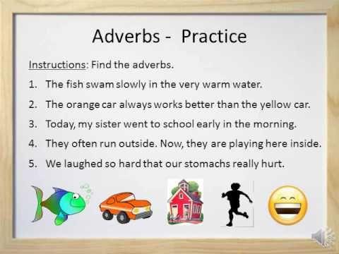 Adverbs Video And Worksheet Adverbs Adverbs Practice English Curriculum Super teacher worksheets adverbs