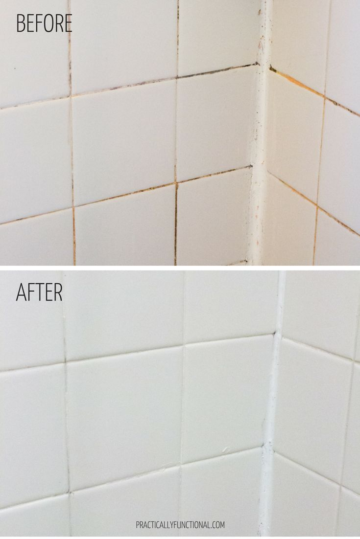 How To Clean Grout With A Homemade Grout Cleaner Homemade Grout Cleaner Bathroom Cleaning Shower Grout