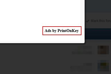 How to uninstall PrintOnKey Malware, removal of PrintOnKey Spyware and Adware. PrintOnKey is an adware and display the ads like 'Ads by