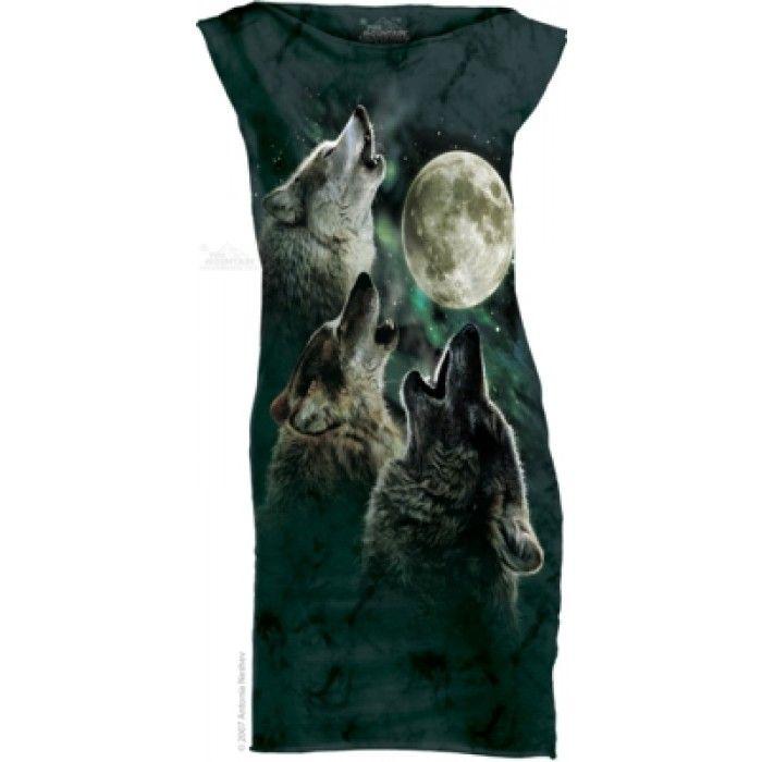 Mini Dress Dama 3D – Mini Dress 3 Wolf Moon
