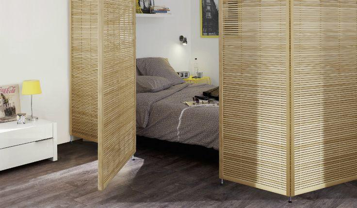 Les cloisons amovibles vous permettent de délimiter les espaces facilement. © Castorama