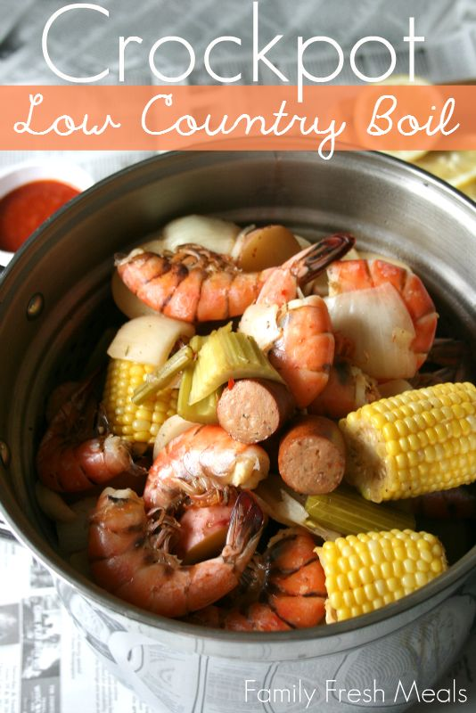 Crockpot Low Country Boil: DIRECT LINK:  http://www.familyfreshmeals.com/2013/06/crockpot-low-country-boil.html#more-3679