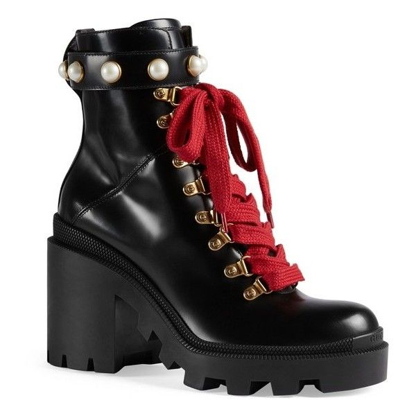 ab82df78a Women s Gucci Trip Imitation Pearl Boot ( 1