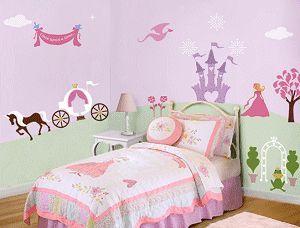 Perfectly Princess Kids Mural Stencils