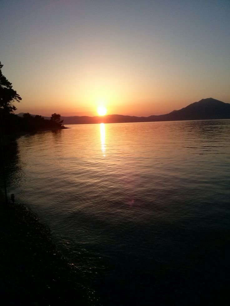 Sunset Panagopoula Greece!
