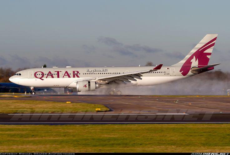 Qatar Airways Airbus A330-202 @MAN