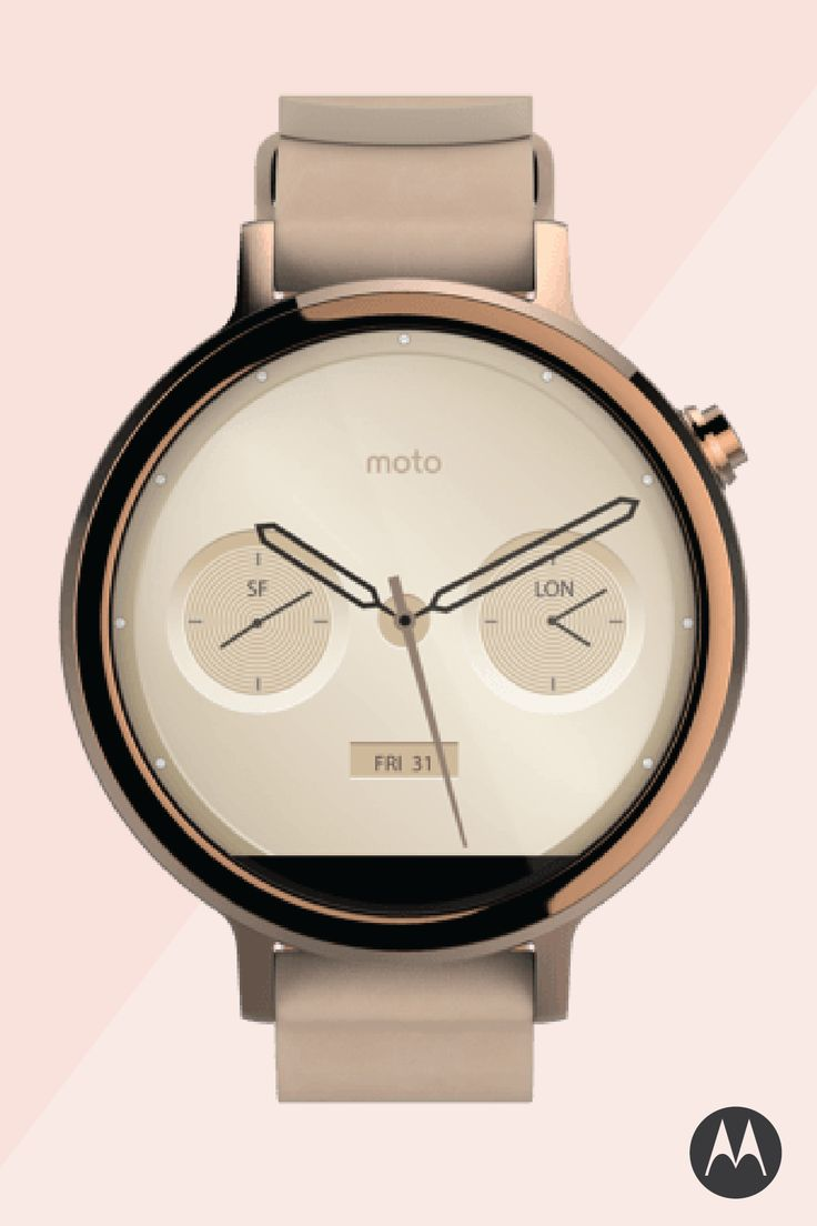 Customize your Moto 360 to your exact specifications—with multiple case sizes, finishes, bezels, and bands—using Moto Maker, our online design studio. With the world's first fully customizable smartwatch, you can design the watch that perfectly suits your style.