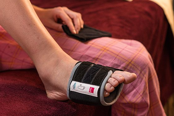 restiffic Restless Legs Syndrome Foot Wrap - RLS Non-Drug Treatment