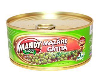 Mazăre Gătită - Conservă easy-open, 300 g